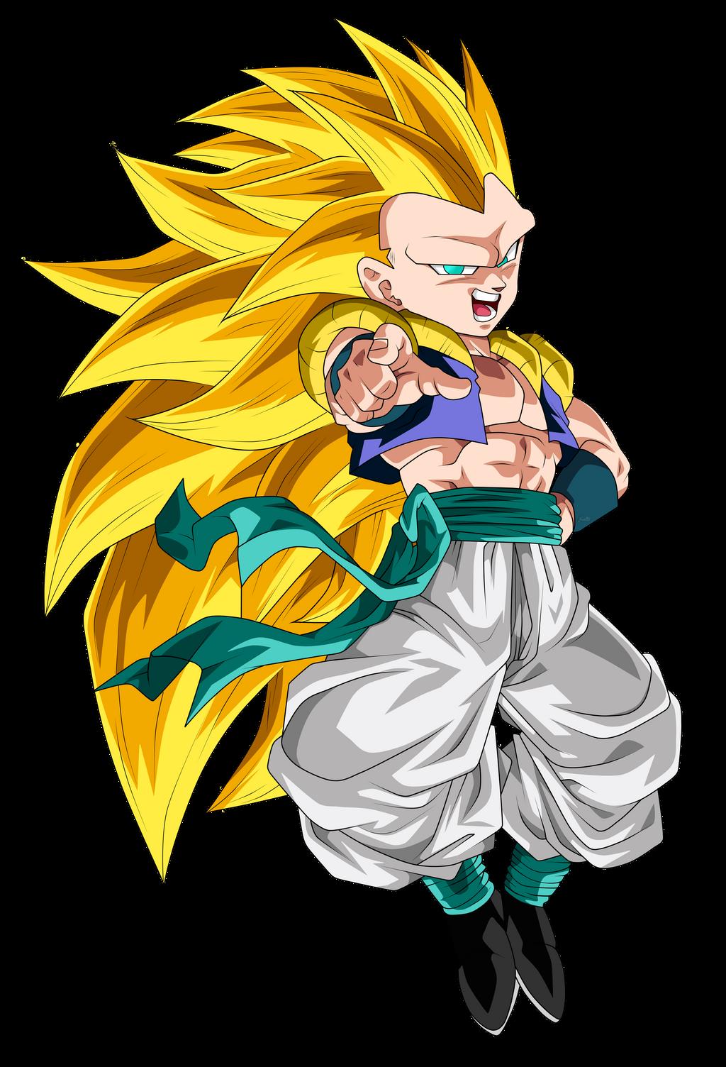 Gotenks Super Saiyan 3 by ChronoFz on DeviantArt