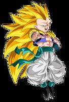 Gotenks Super Saiyan 3 by ChronoFz