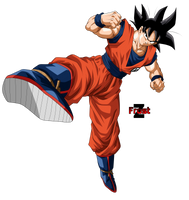 Son Goku #2 by ChronoFz