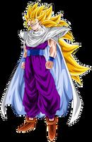 Gohan Super Saiyan 3 - Special 700 Watchers by ChronoFz