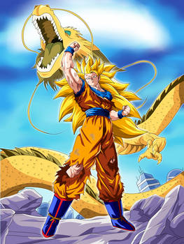 The Last Hope - Son Goku Dragon Fist