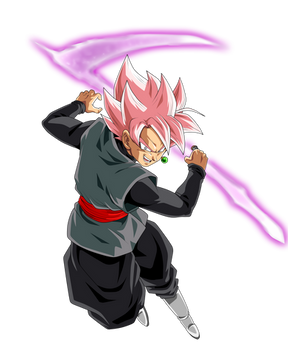 Goku Black Super Saiyan Rose by ChronoFz