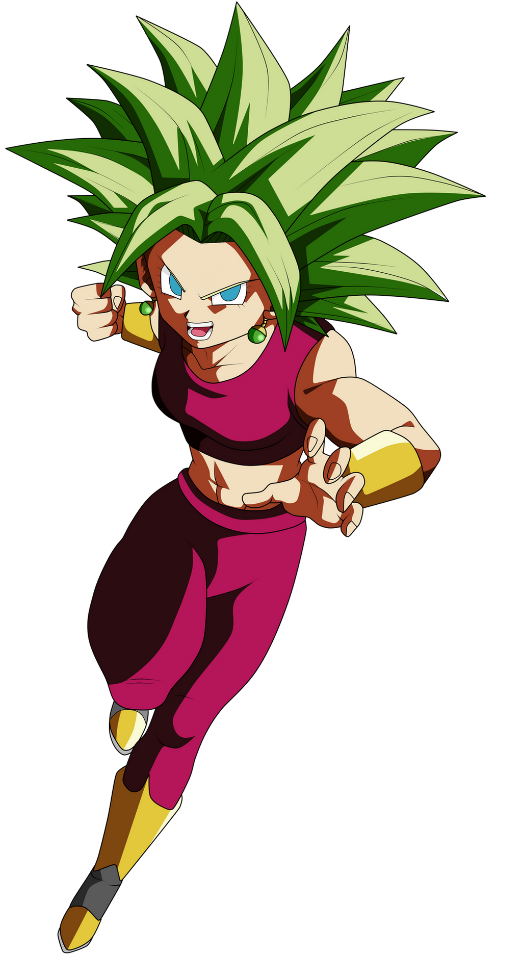 Kefla titjob dragon ball super