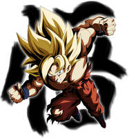 Super Saiyan Son Goku by ChronoFz
