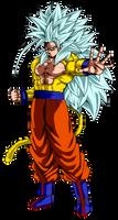 Goku Super Saiyan Mystic 5