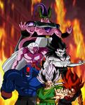 Dragon Ball AF Villains