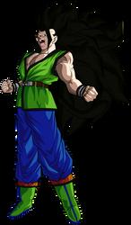 Goku  Super Saiyan Mystic 3