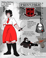 PH Student ID - Mallory V3 by SummaBadger