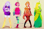adventure time princesses
