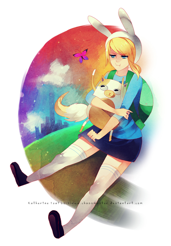Fionna and Cake by chuwenjie