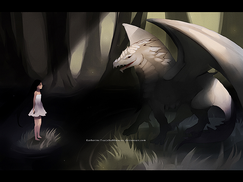 dragon encounter by chuwenjie