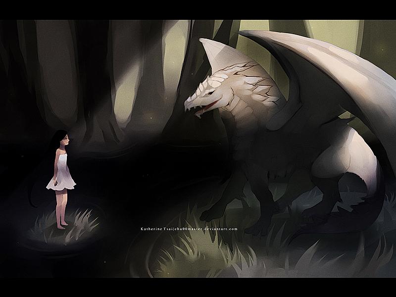dragon encounter by chuwenjie