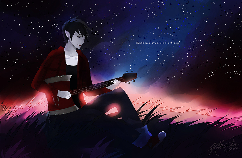 Marshall Lee by chuwenjie