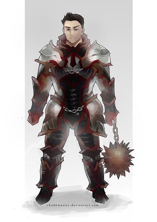 Warrior Design by chuwenjie