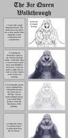 PAINTING WALKTHROUGH: The Ice Queen