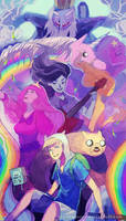 adventure time! by chuwenjie