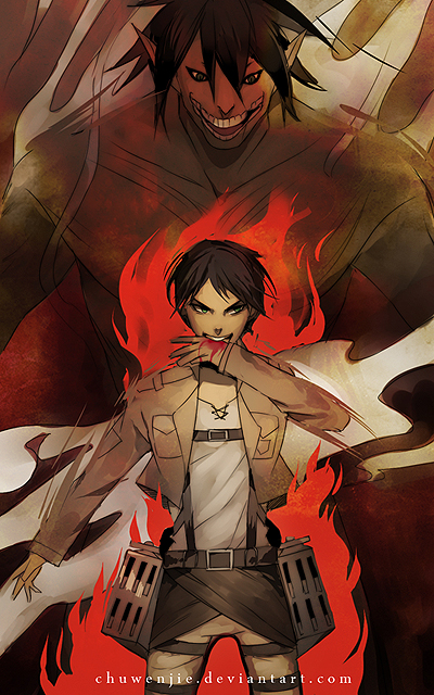 attack on titan by chuwenjie