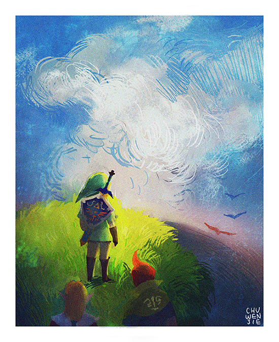 Skyward Sword by chuwenjie