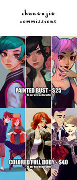 CHUWENJIE COMMISSIONS by chuwenjie