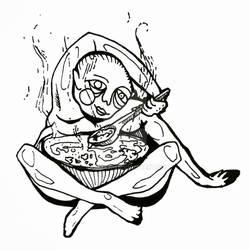 warm soup belly