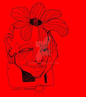 Softness of Spring red feeling