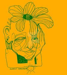 Softness of Spring yellow feeling