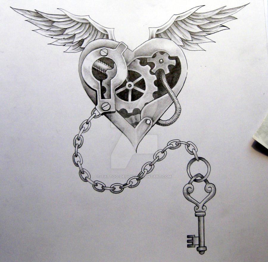 Steam punk Tattoo Design