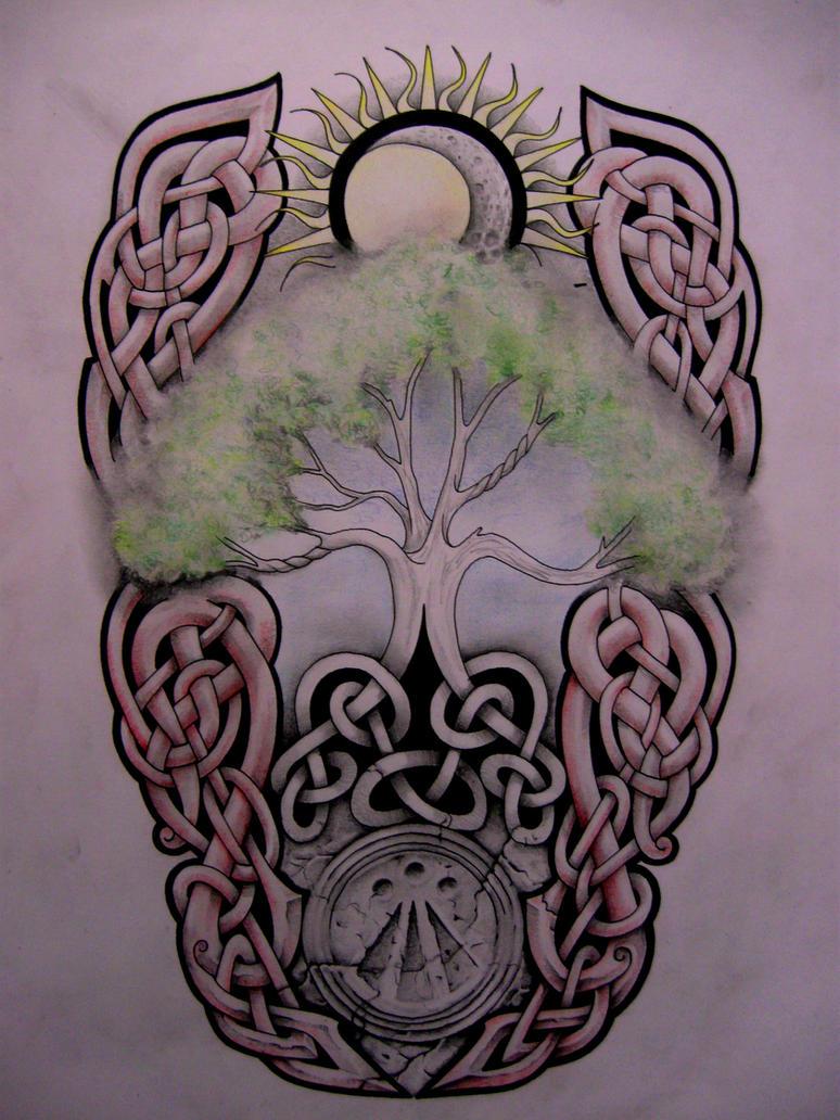Тату дерево: значение, 113 фото татуировки, эскизы