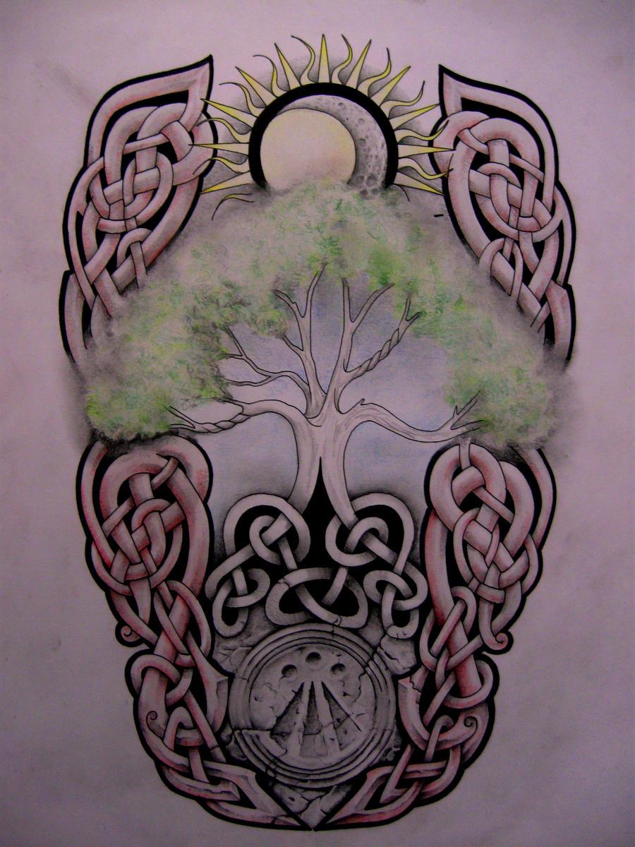 tree of life tattoo design by tattoo design on deviantart. Black Bedroom Furniture Sets. Home Design Ideas