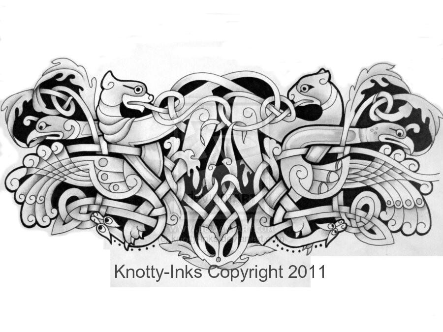celtic armband tattoo design by tattoo design on deviantart. Black Bedroom Furniture Sets. Home Design Ideas