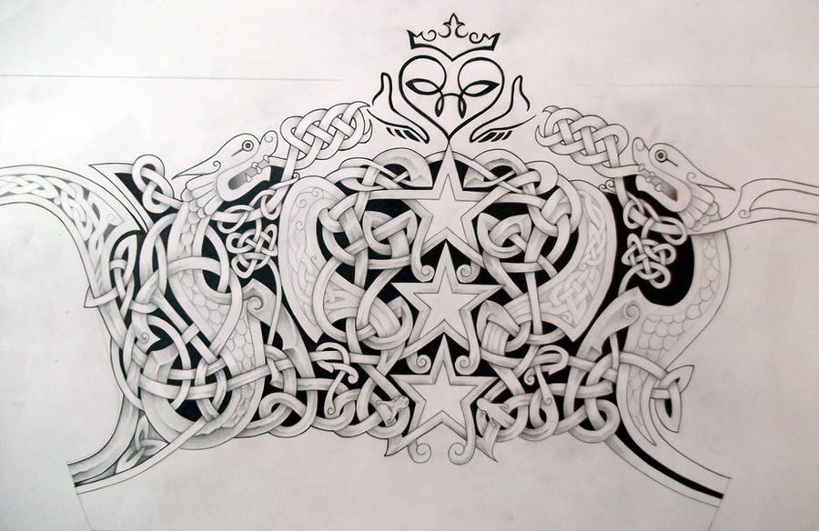 celtic tattoo design by tattoo design on deviantart. Black Bedroom Furniture Sets. Home Design Ideas