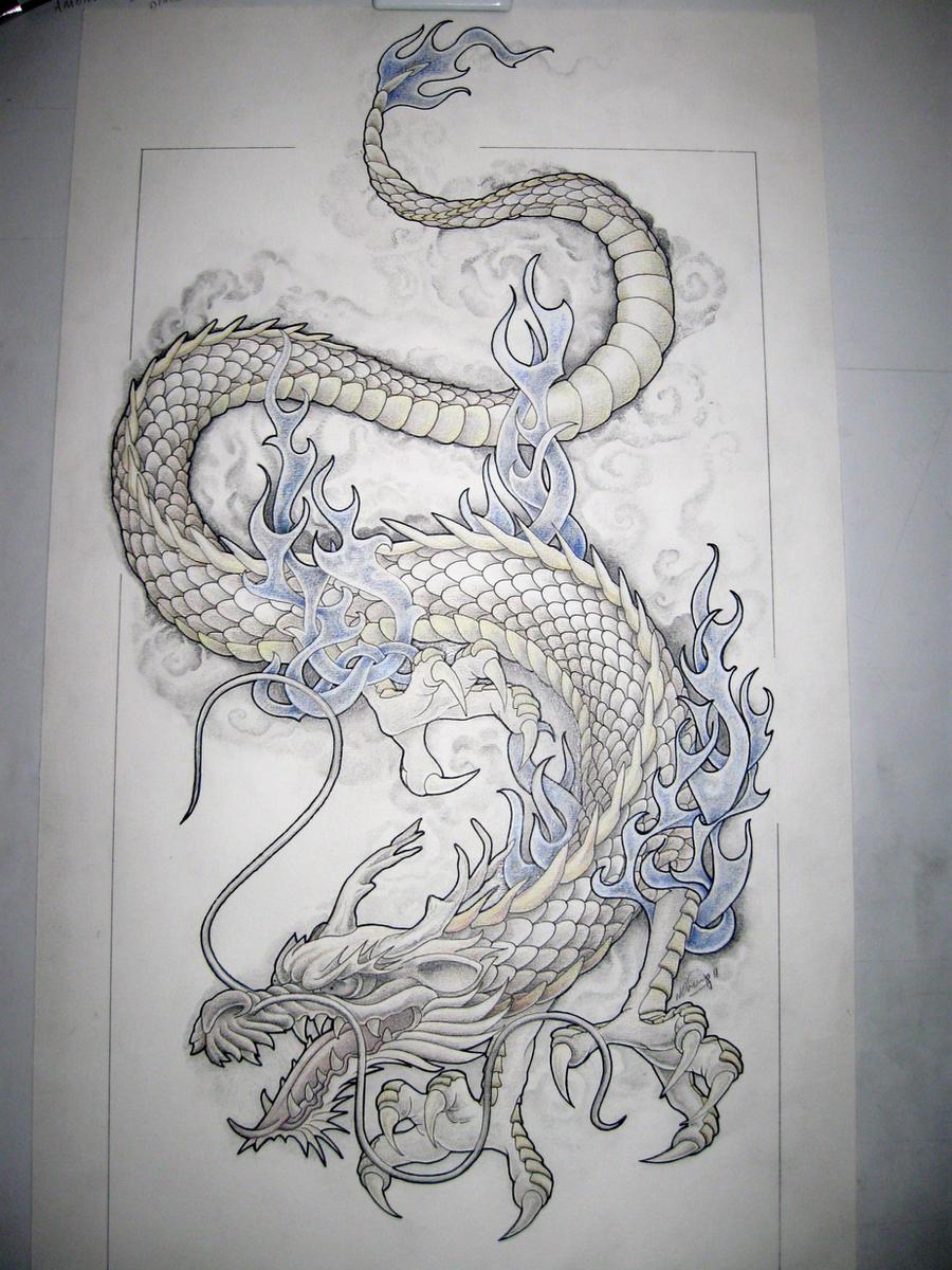 dragon tattoo design by tattoo design on deviantart. Black Bedroom Furniture Sets. Home Design Ideas