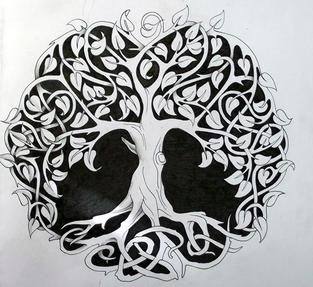 Tree of Life Tattoo Art