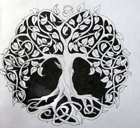 Celtic tree of life 1 by Tattoo-Design