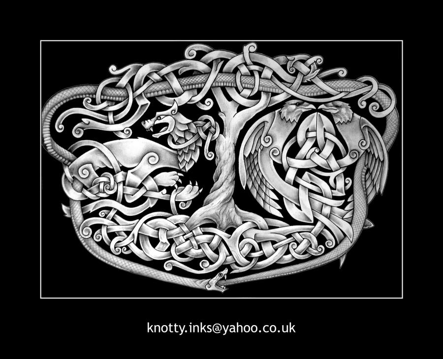 Old Norse Tattoo Designs Celtic tattoo by Tattoo-Design