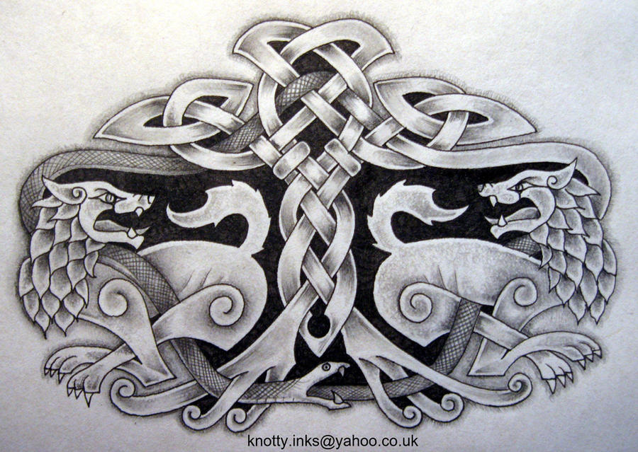Celtic Tattoo design m1 by Tattoo-Design