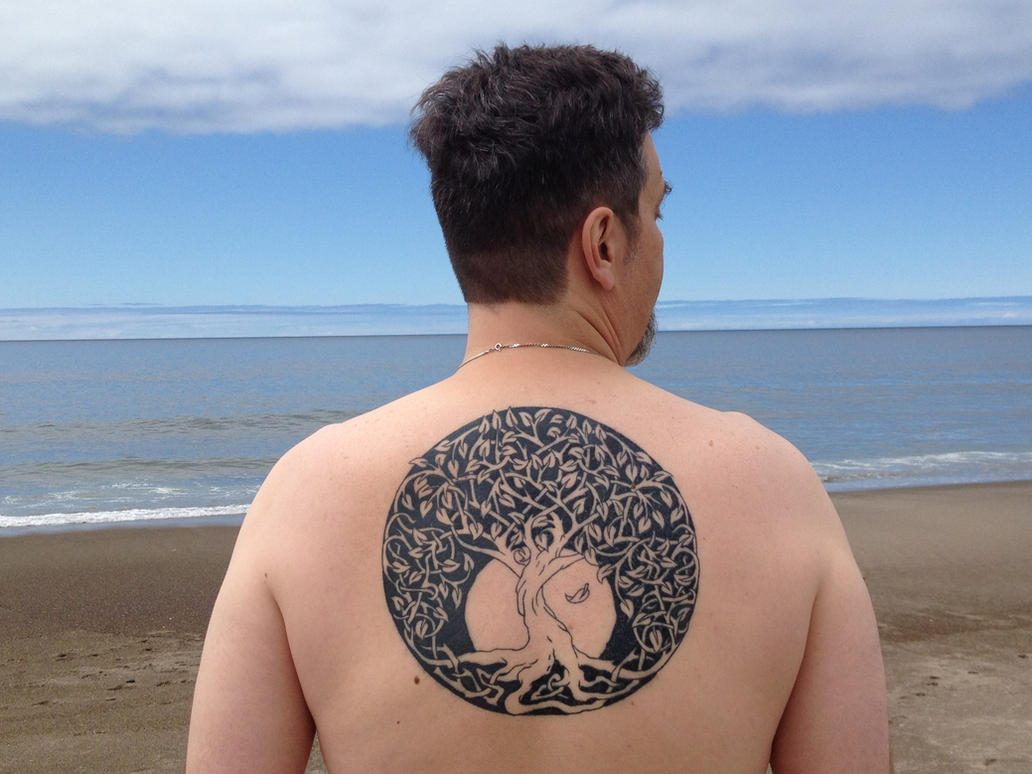 Celtic tree of life Tattoo by Tattoo-Design