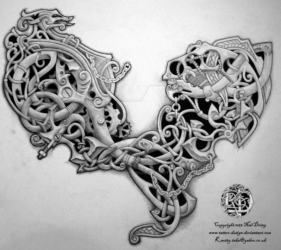 79701b8bda967 Celtic Steampunk? by Tattoo-Design on DeviantArt
