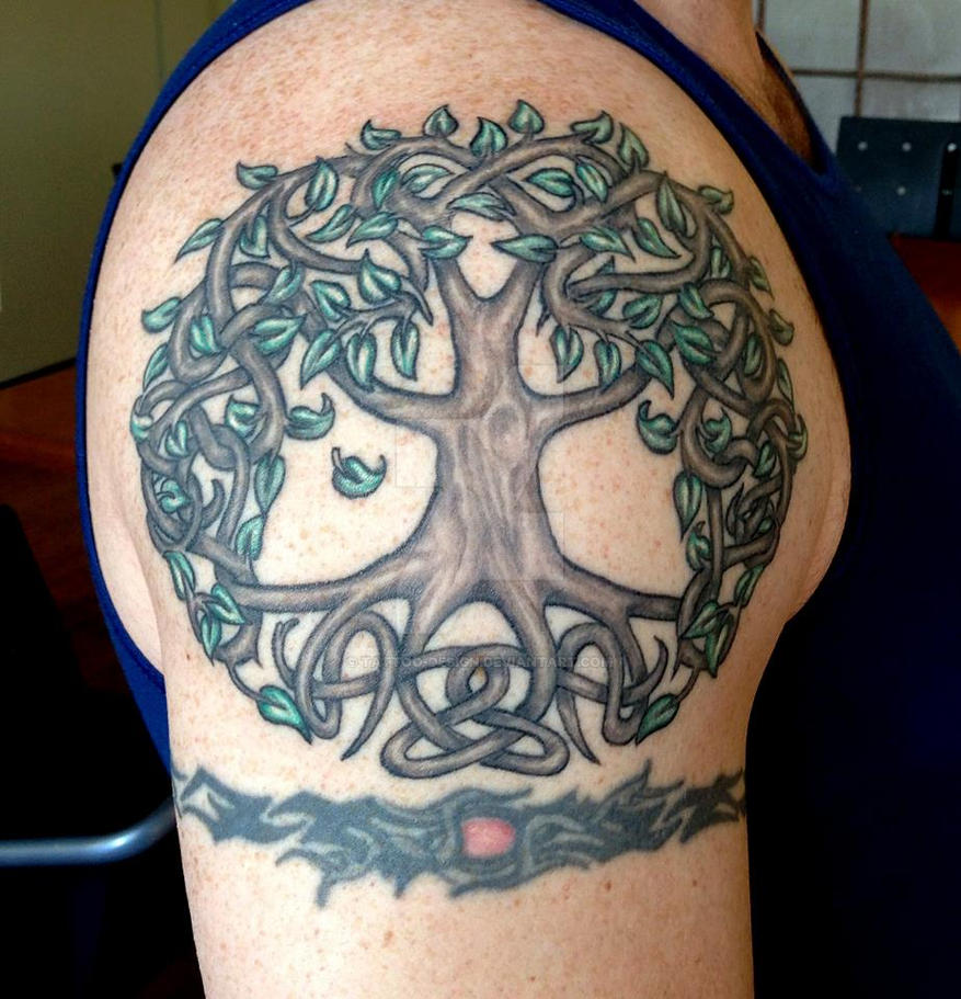 Tree Of Life Tattoo: Tree Of Life Tattoo By Tattoo-Design On DeviantArt