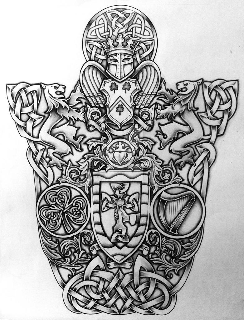 f03039dd371ba Celtic Coat of Arms by Tattoo-Design on DeviantArt