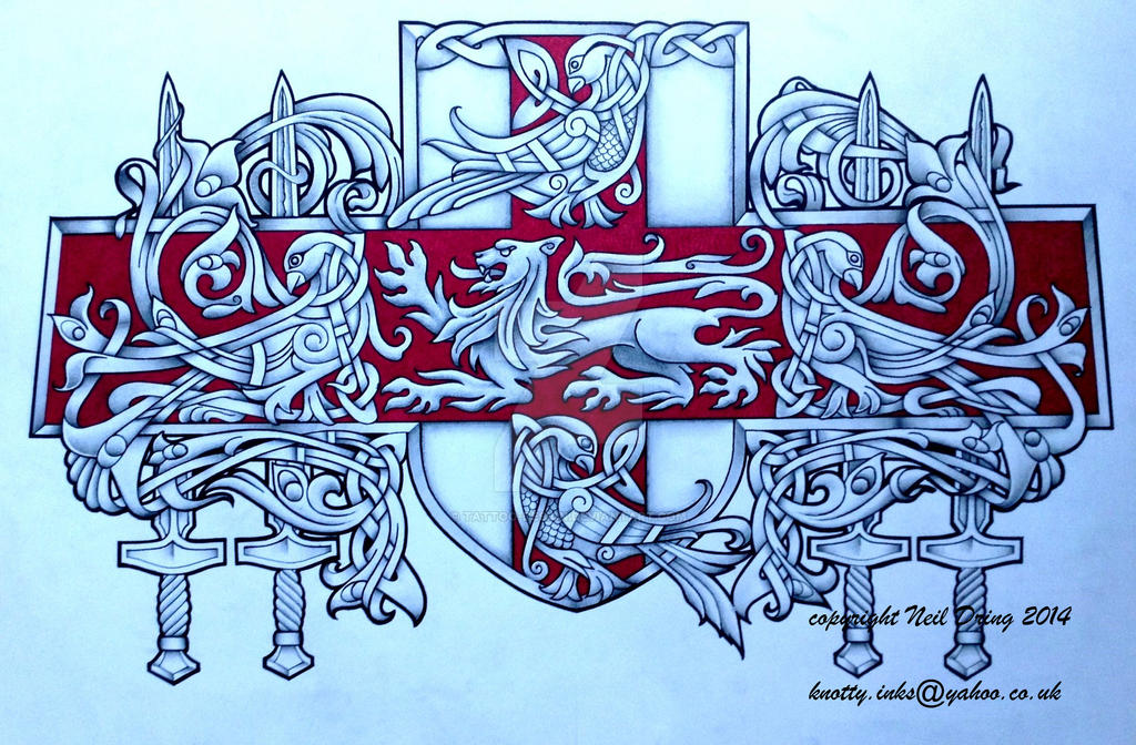 english coat of arms tattoo - photo #32