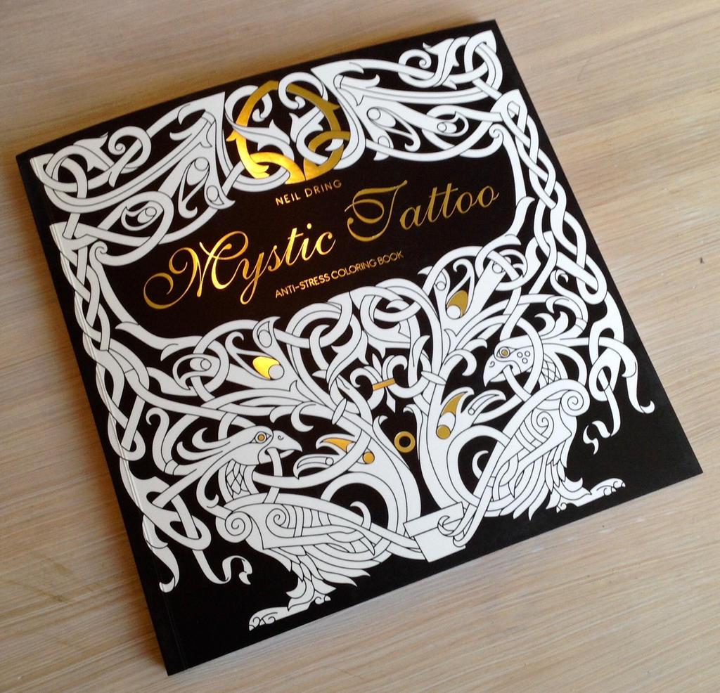 mystic tattoo colouring tattoo design book by tattoo design on deviantart. Black Bedroom Furniture Sets. Home Design Ideas