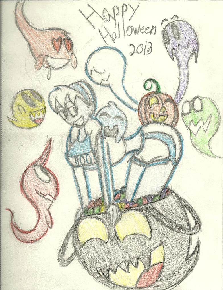 Halloween Fest 2013: Halloween Candy by InFAMOUS-Toons