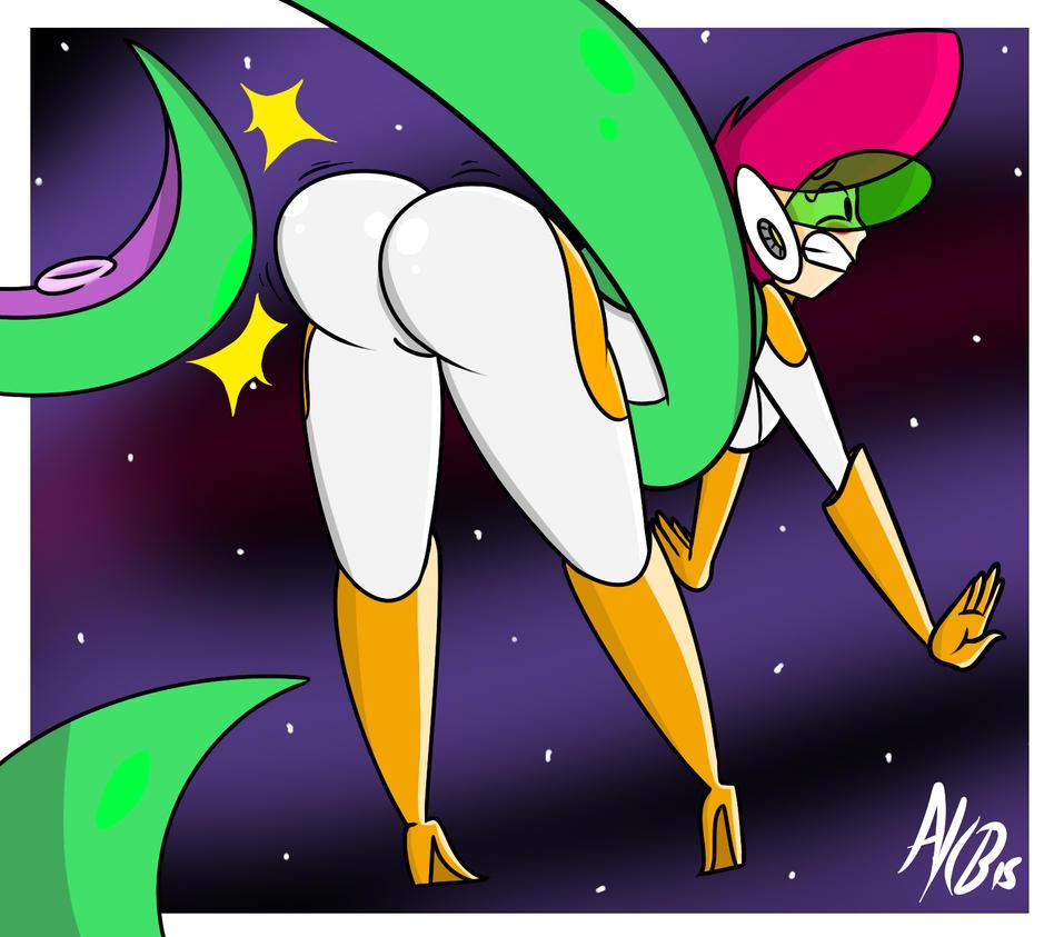 butt spank: