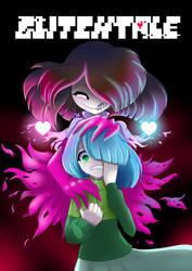 GLITCHTALE Fanart - Betty and Amber ( Custody )