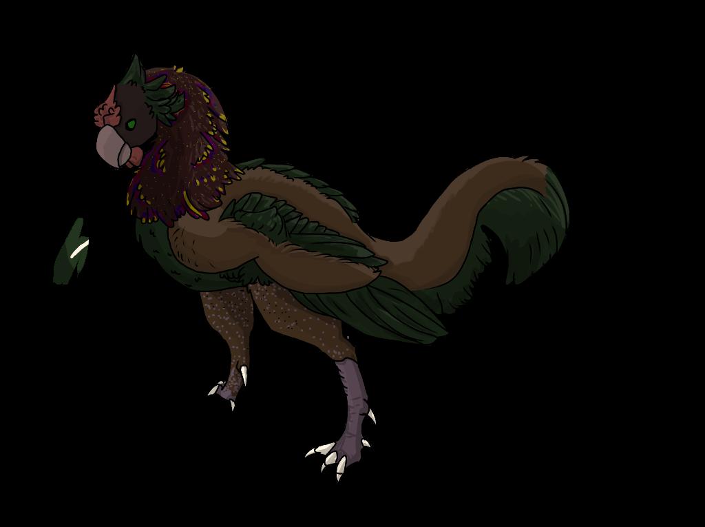 Majestic Chicken Creature by d0fferz