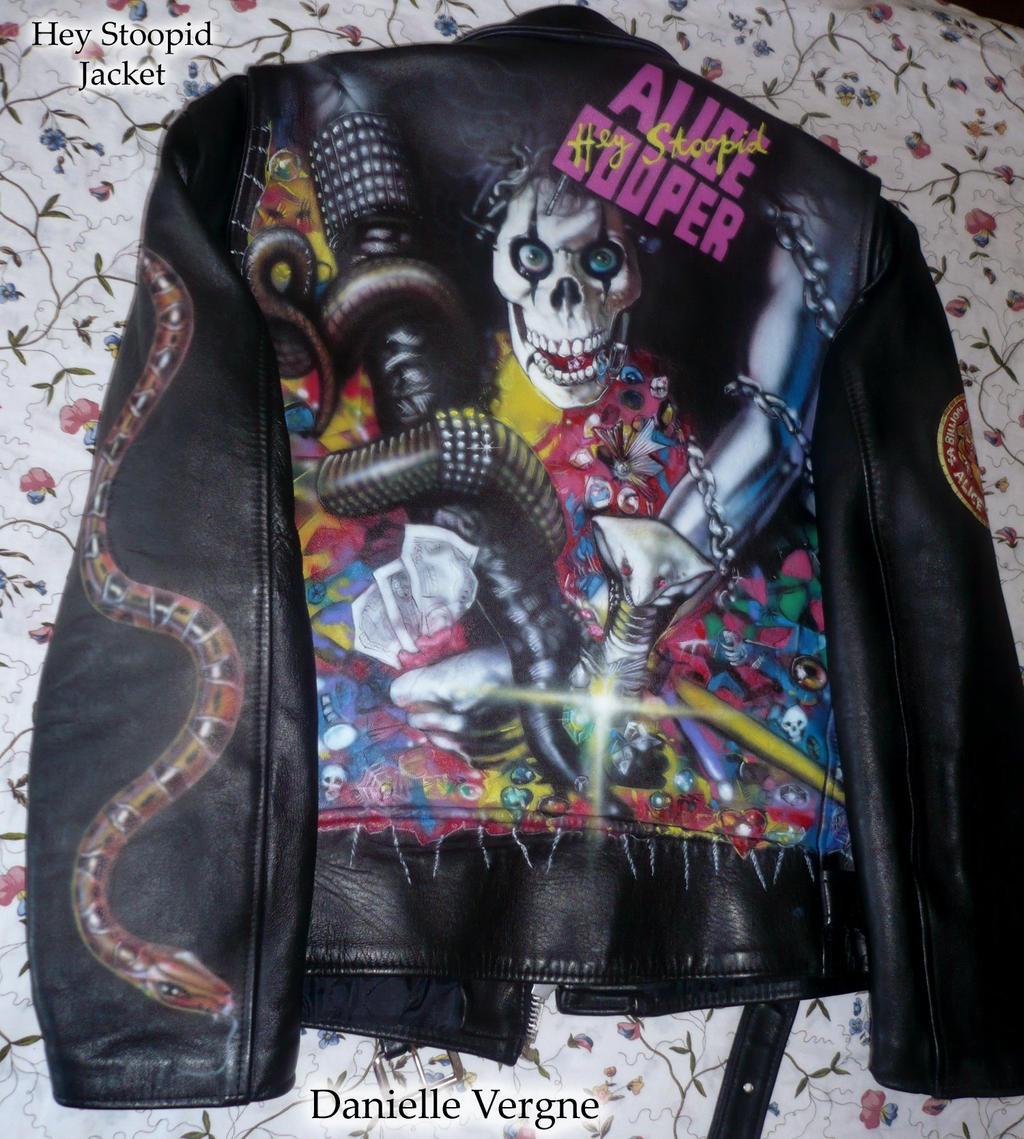 Paint Sprayed Jacket