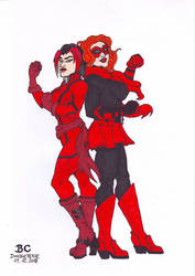 Crimson Crimefighters by kenfusion45