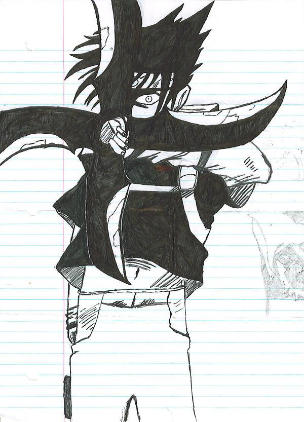 Sasuke Demon Windmill Shuriken by FragMonkey9000