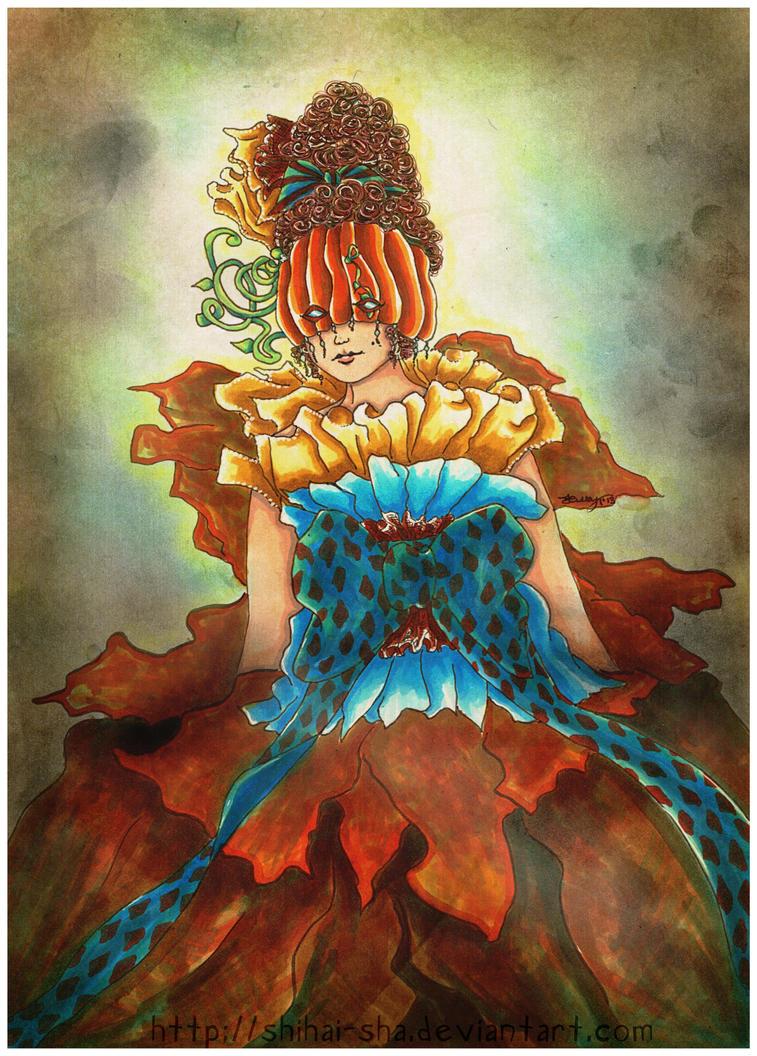 The Pumpkin Queen by MilleniumFallcon